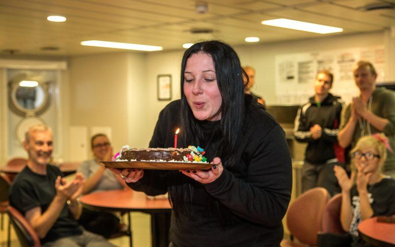 #typicalfieldworkday & Happy Birthday Briony!