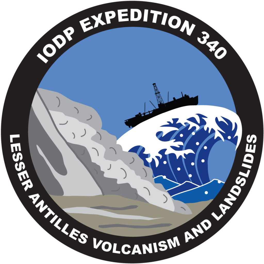 IODP Expedition 340 patch
