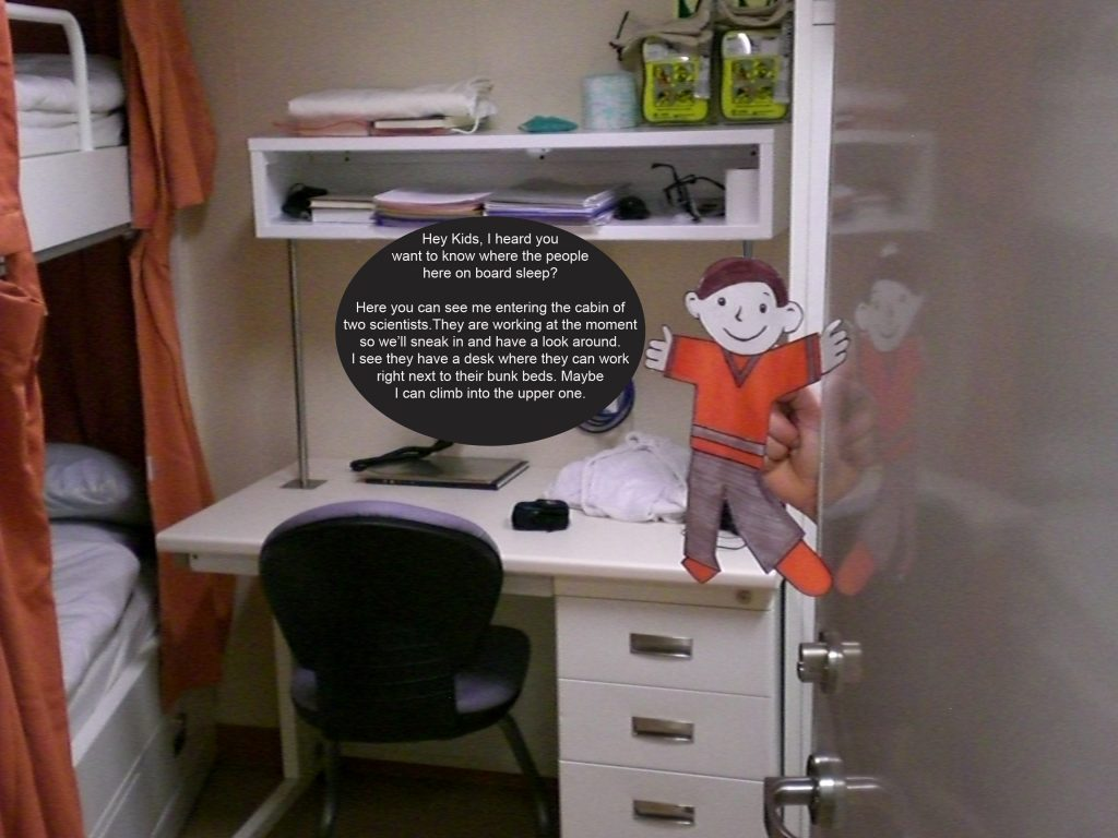 Flat Stanley Looks Into A Cabin Joides Resolution