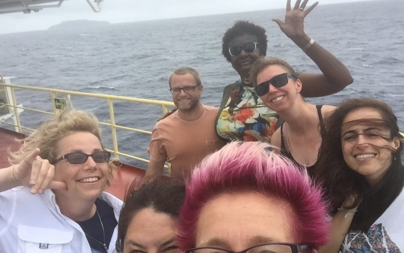 Rockers rocking through the West Pacific – #thefloatingclassroom