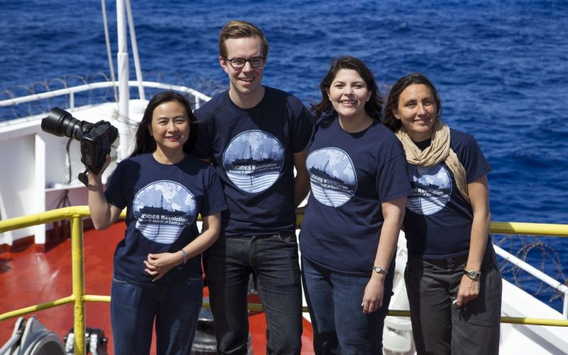 Talking About Science at Sea: Reflecting on My Time Aboard the JOIDES Resolution