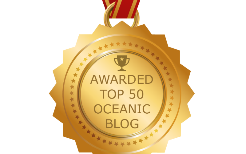 JR in the Feedspot Top 50 Oceanic Blogs!