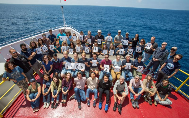 2018 – 50 years of scientific ocean drilling!