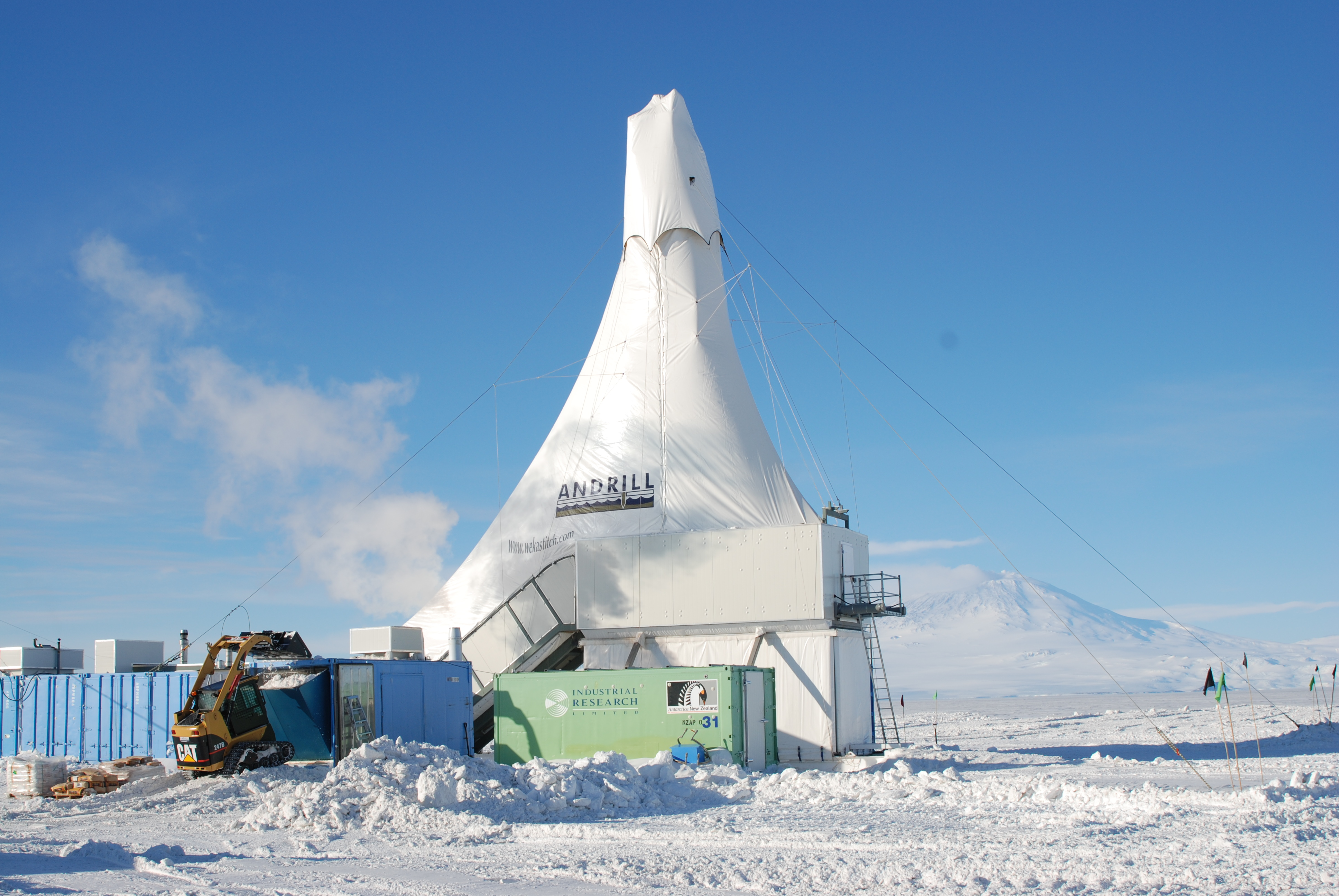 The ANDRILL project on the Ross Ice Shelf