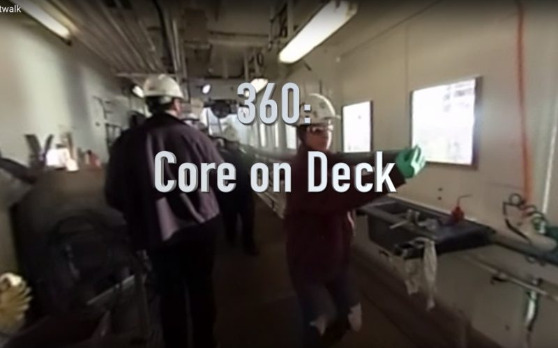 360 Video: Core on Deck