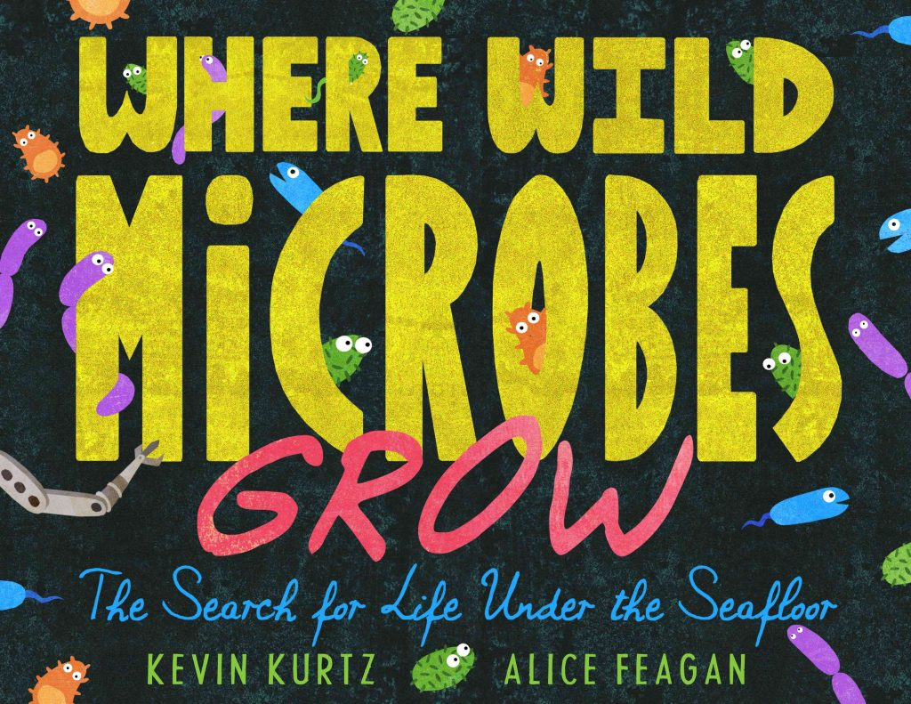 Where Wild Microbes Grow children's book