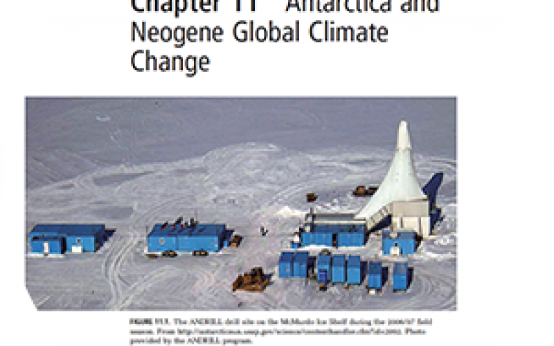 Antarctica and Neogene Global Climate Change