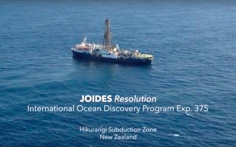 Exp 375 – Hikurangi Subduction Zone, Science Objectives