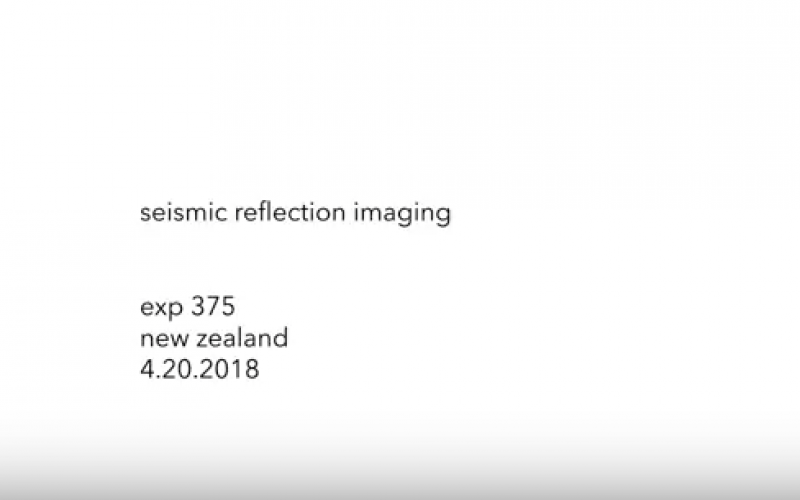 exp 375 – seismic reflection imaging