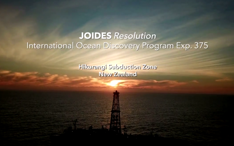 Exp 375 – Seafloor Observatories: Lifetime Beyond the Drilling