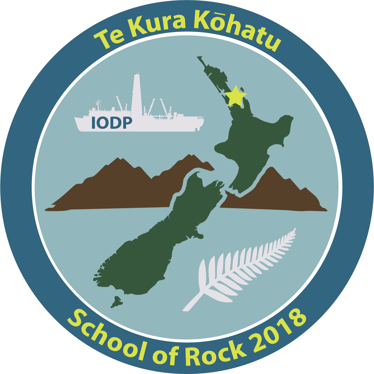 Te Kura Kohatu School Of Rock 2018 Joides Resolution