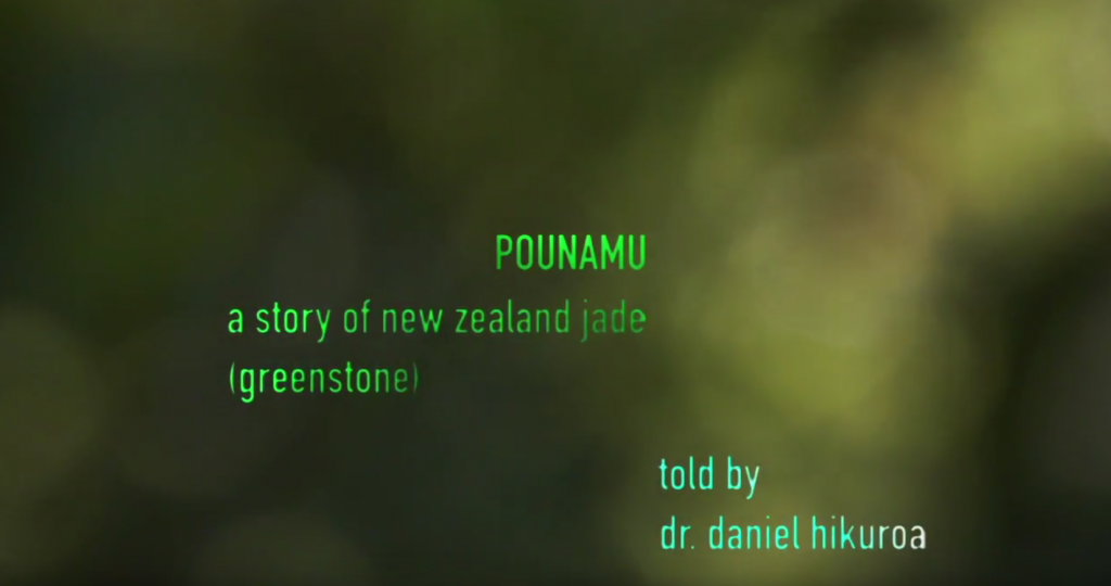 pounamu jade greenstone