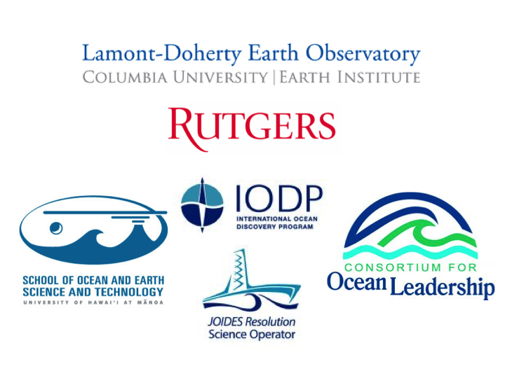 In Search of Earth's Secrets logos