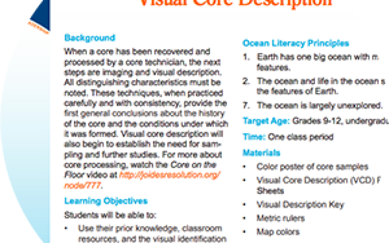 Visual Core Description