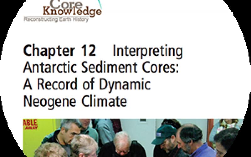 Interpreting Antarctic Sediment Cores