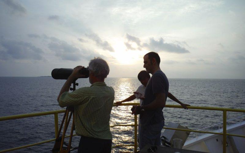 Exp359. Mer des Maldives: sous les coraux le basalte !