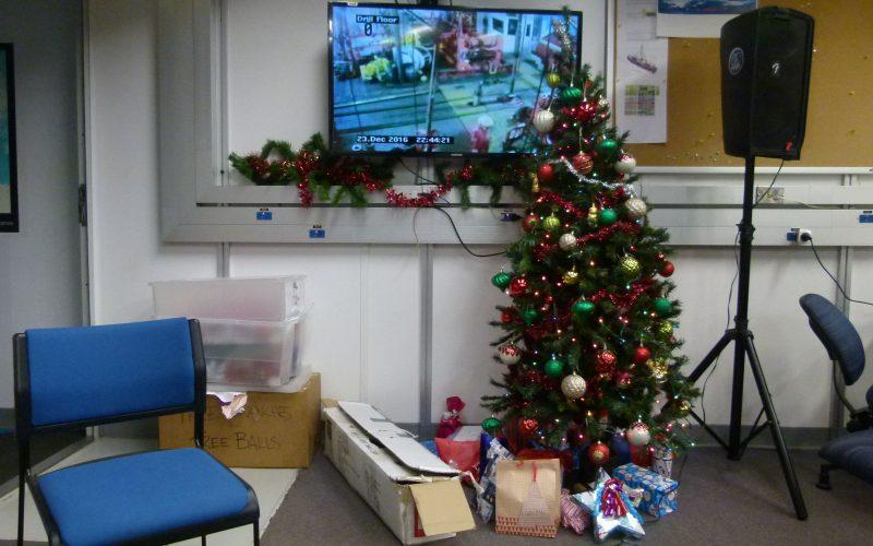 Weihnachten auf See/ Christmas At Sea