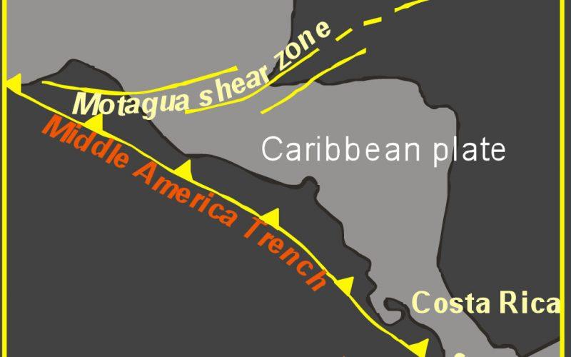 Geological setting of Costa Rica
