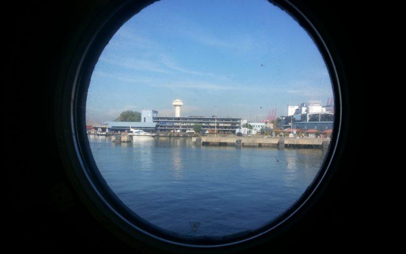 JR at Colombo Port