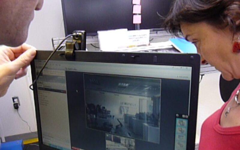 Notre premiere videoconference avec la Nouvelle Caledonie