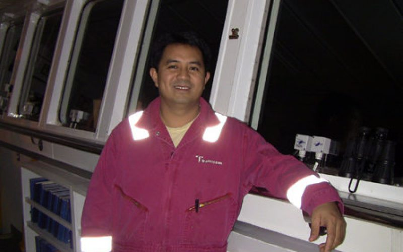 Rene Limjuco – Third Mate