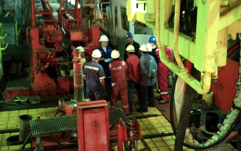 Post drilling operations
