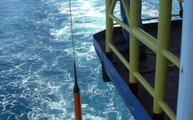 Underway Geophysics During transit to Tahiti