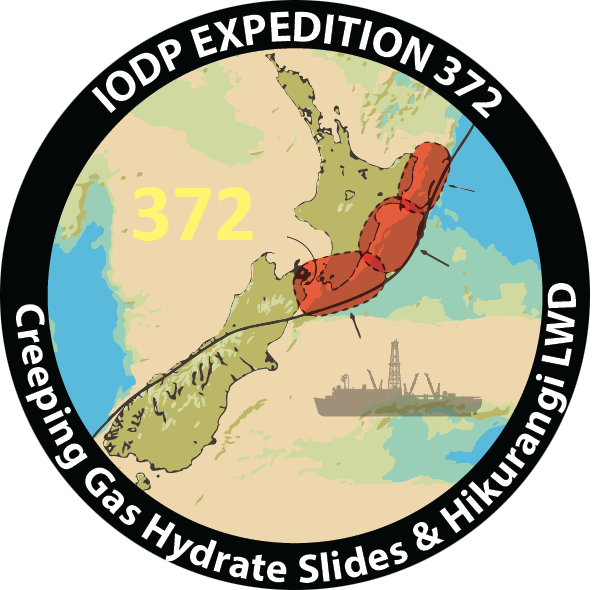 IODP expedition 372 patch