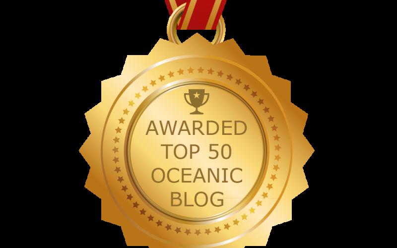 JR in the Feedspot Top 50 Oceanic Blogs!