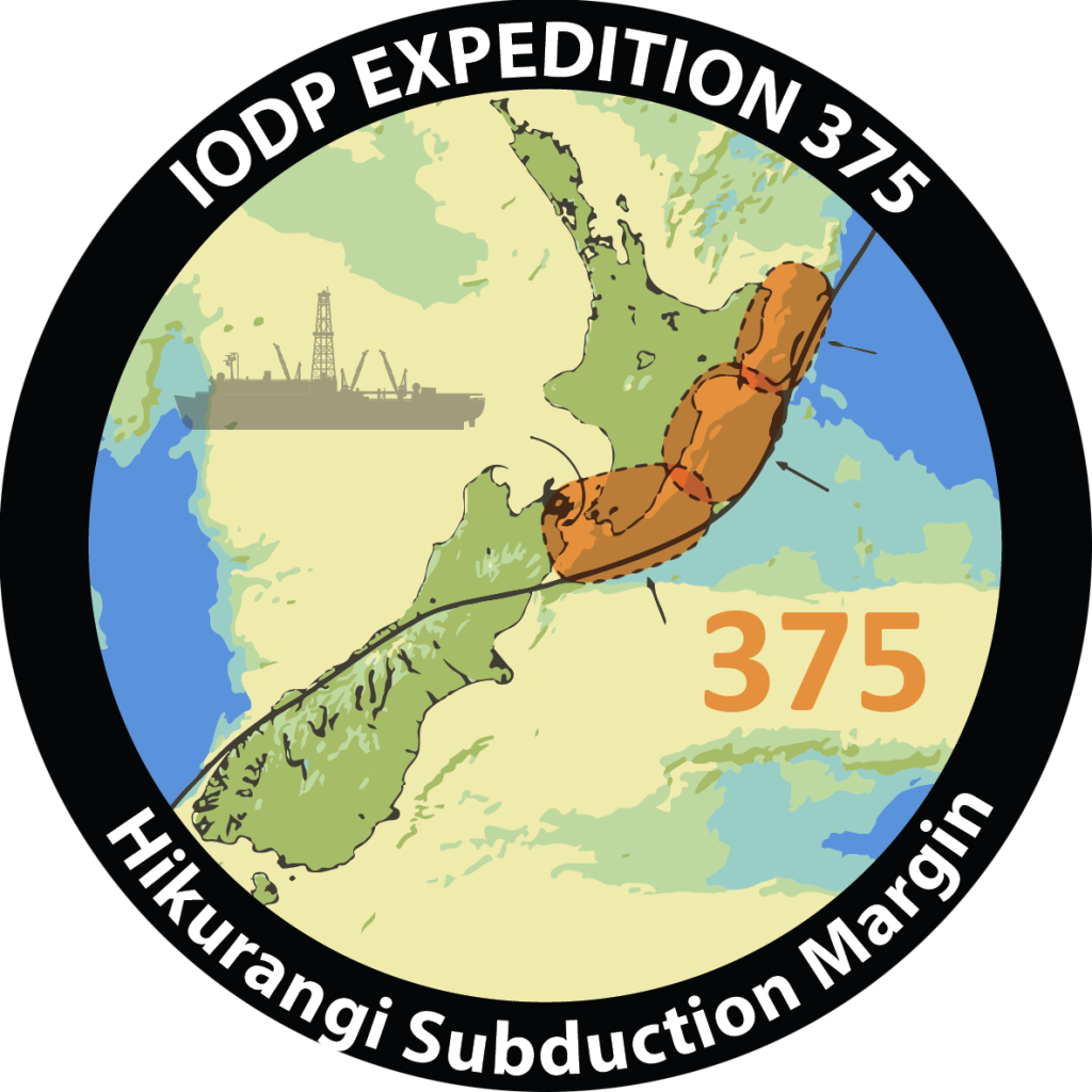 IODP Expedition 375 patch