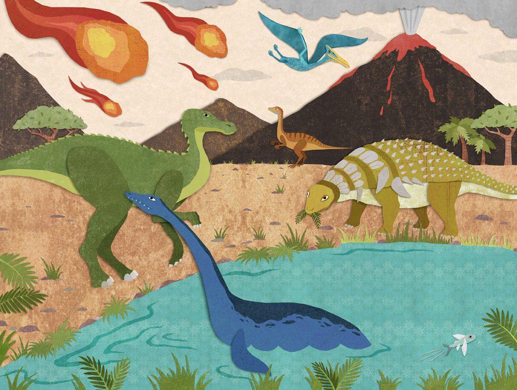 Dinosaur asteroid Impact