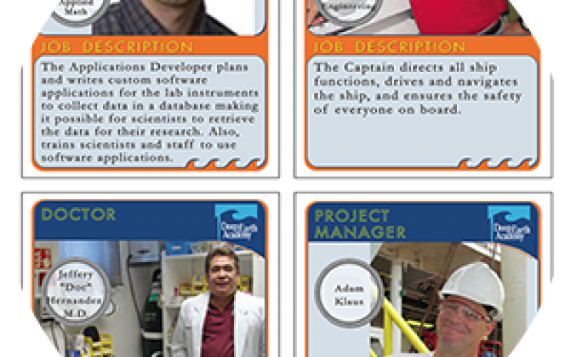 Expedition Career Trading Cards
