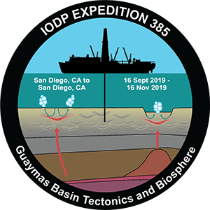 Logo of the Joides Resolution Expedition 385
