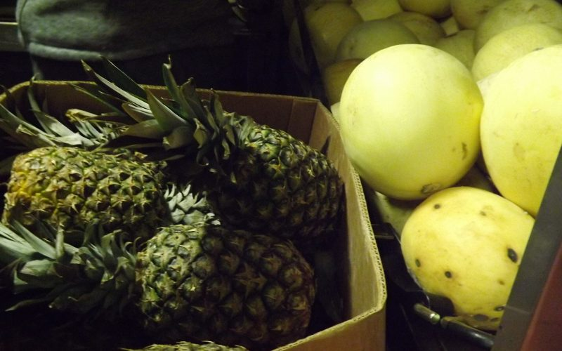 Life on the JR: We still have pineapples!