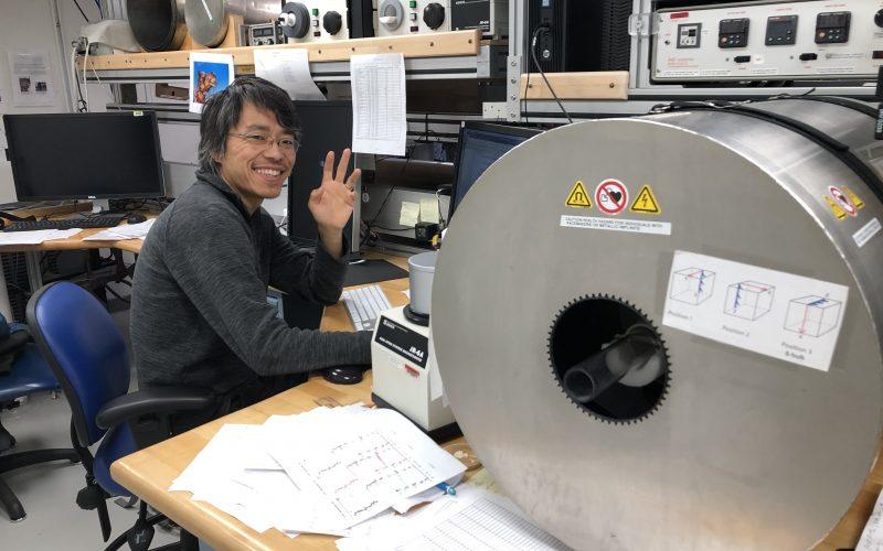 Career Spotlight: Paleomagnetist Xiangyu Zhao