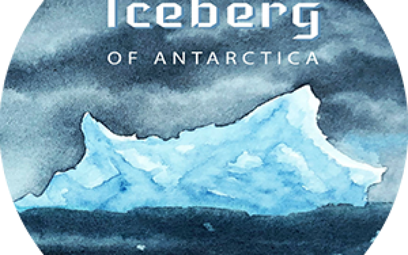 Iceberg of Antarctica Book